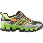 SKECHERS Boys' S Lights Flashpod Scoria Shoes
