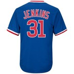 Majestic Men's Chicago Cubs Fergie Jenkins #31 Cooperstown Cool Base 1968-69 Replica Jersey