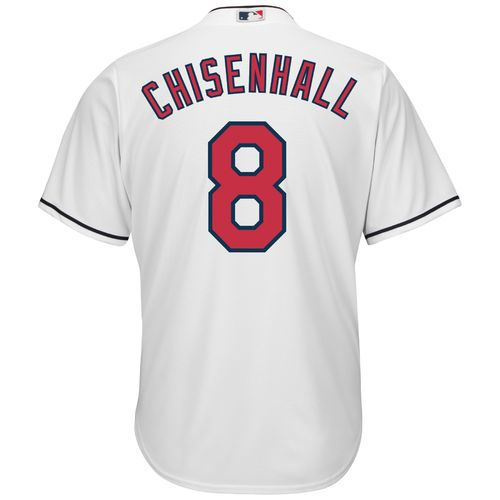 Majestic Men's Cleveland Indians Lonnie Chisenhall #8 Cool Base Replica Jersey