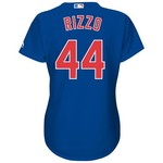 Majestic Women's Chicago Cubs Anthony Rizzo #44 Cool Base Replica Jersey - view number 1