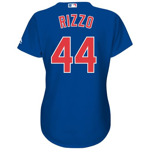 Majestic Women's Chicago Cubs Anthony Rizzo #44 Cool Base Replica Jersey