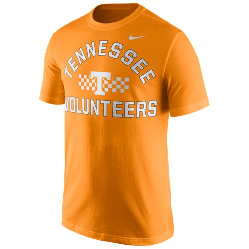 Nike™ Men's University of Tennessee Stadium Cotton Team First T-shirt