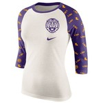 Nike Women's Louisiana State University Veer Raglan T-shirt