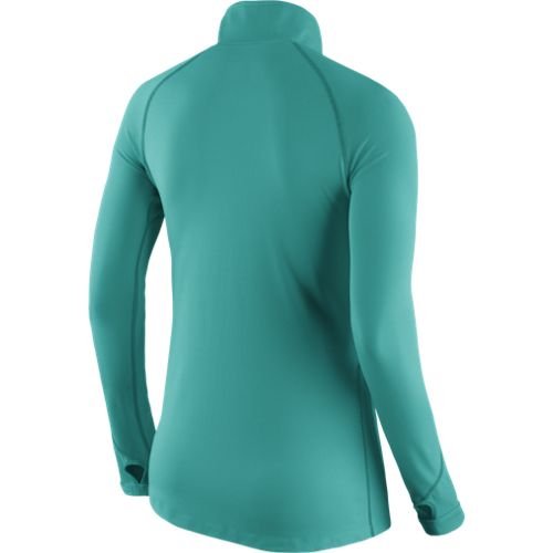 Nike Women's Miami Dolphins Tailgate Element 1/2 Zip Top - view number 2