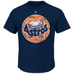 Majestic Men's Houston Astros Cooperstown Astrodome T-shirt