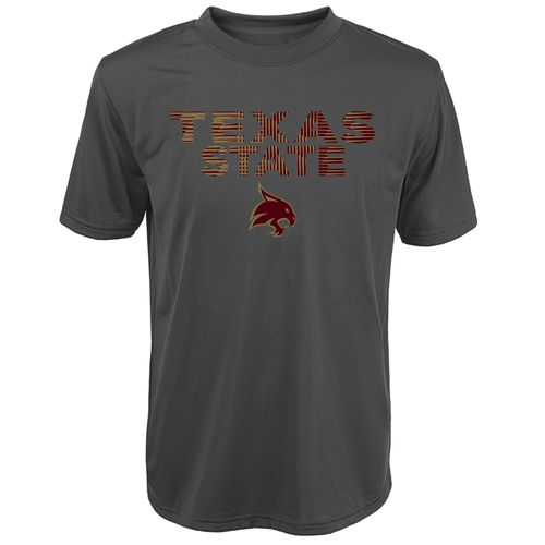 Gen2 Kids' Texas State University In Motion Clima Triblend T-shirt