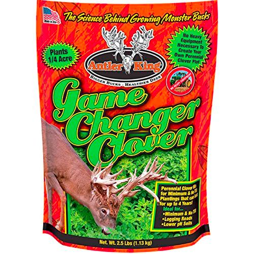Antler King Game Changer Clover Deer Feed Plot