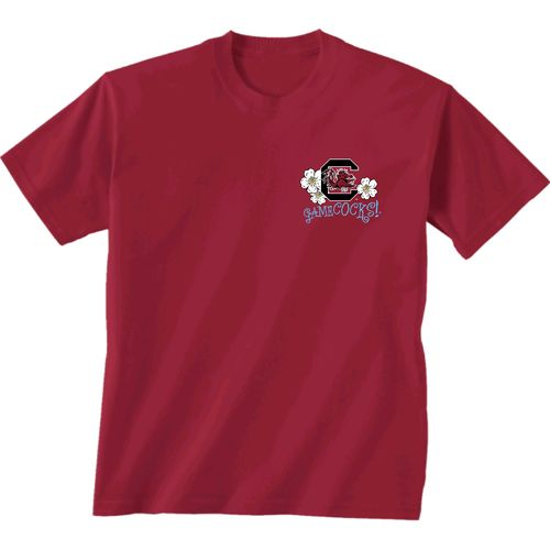 New World Graphics Women's University of South Carolina Bright Plaid T-shirt - view number 2