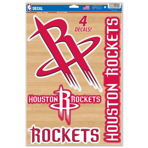 WinCraft Houston Rockets Multiuse Decals 4-Pack - view number 1