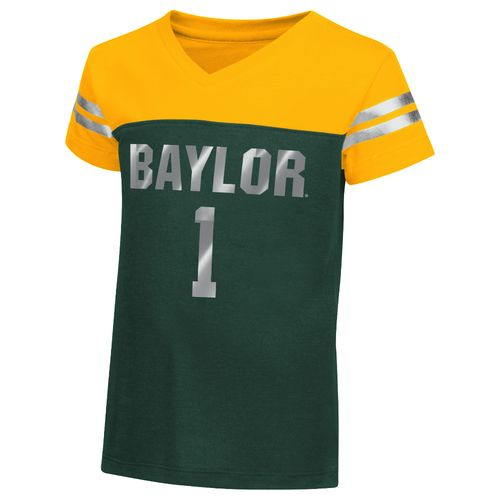 Colosseum Athletics™ Toddler Girls' Baylor University Nickle T-shirt