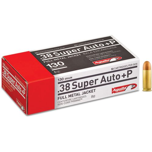 Aguila Ammunition .38 Super Auto+P 130-Grain Centerfire Ammunition - view number 1