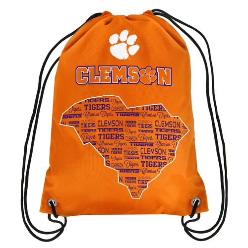 Forever Collectibles™ Clemson University Drawstring Backpack