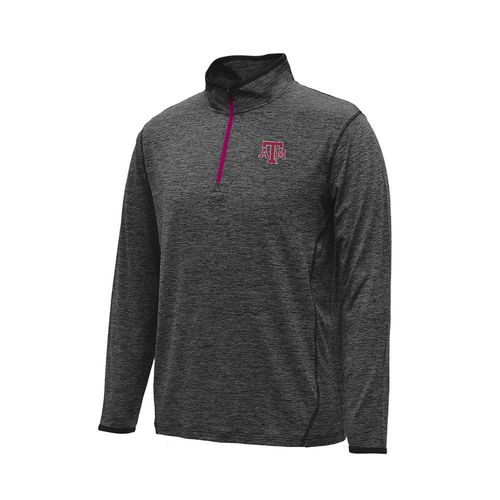 Colosseum Athletics™ Men's Texas A&M University Action Pass 1/4 Zip Pullover