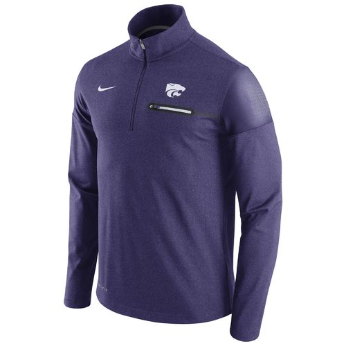 Nike™ Men's Kansas State University Coaches Half Zip Jacket