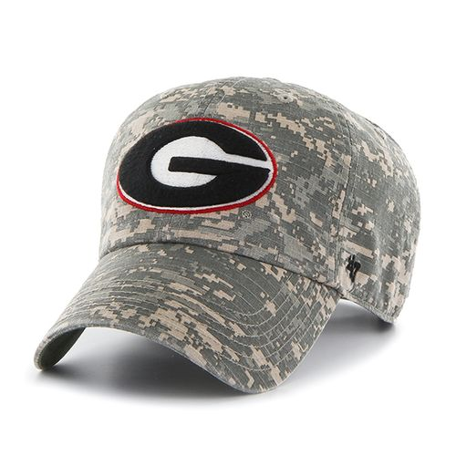 '47 University of Georgia Officer Camo Clean-Up Cap