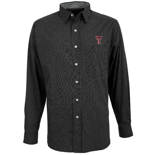 Antigua Men's Texas Tech University Division Dress Shirt