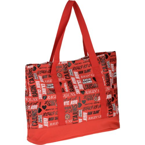 Forever Collectibles™ Women's University of Louisiana at Lafayette Tote Bag
