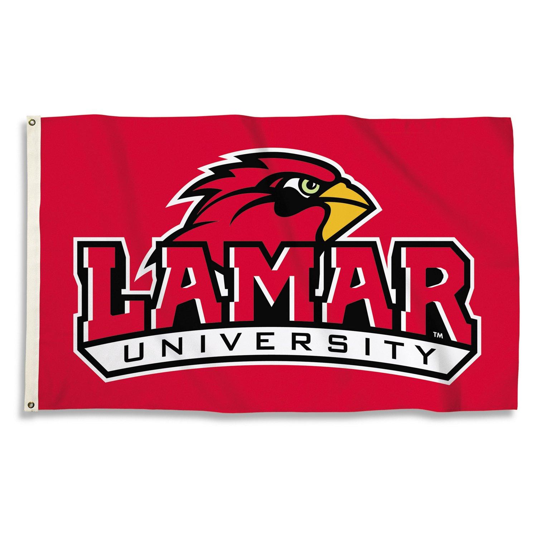 BSI Lamar University 3'H x 5'W Flag