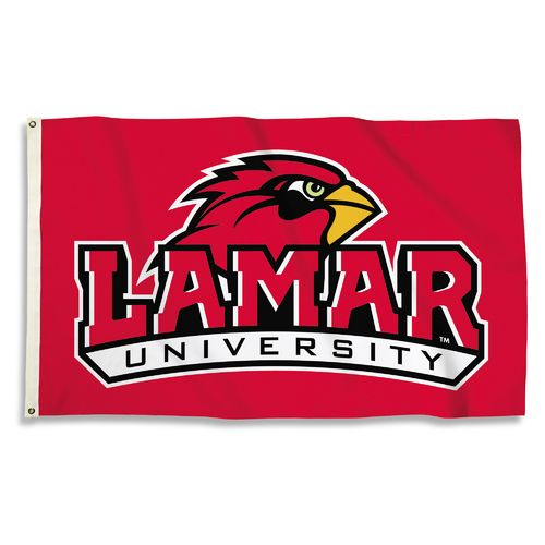 BSI Lamar University 3'H x 5'W Flag