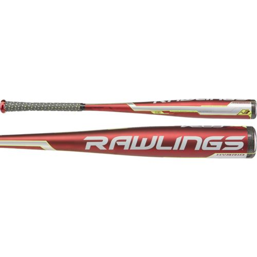 Rawlings Adults' Velo Hybrid Alloy Baseball Bat -3