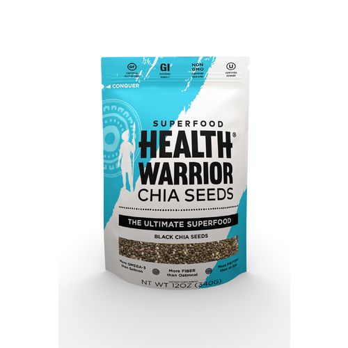 Health Warrior Premium Black Chia Seeds - view number 1