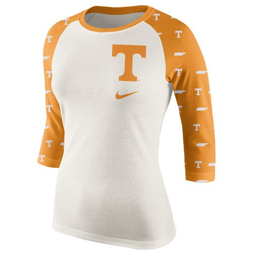 Nike™ Women's University of Tennessee Veer Raglan T-shirt