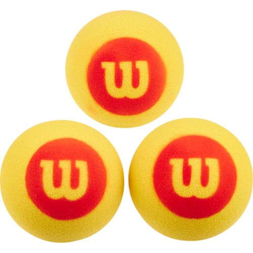 Wilson™ Youth Starter Foam Tennis Balls 3-Pack