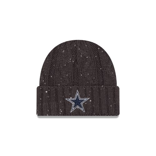 New Era Women's Dallas Cowboys Cable Frosted Knit Hat