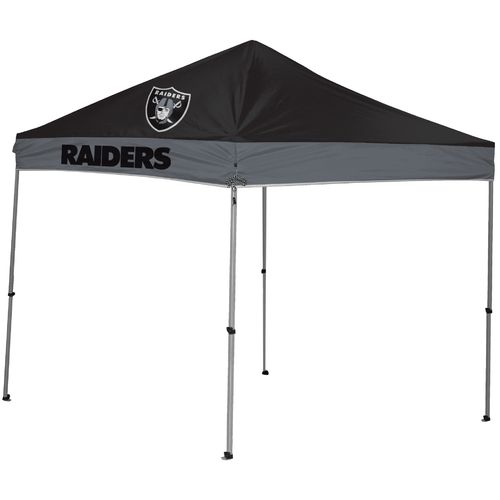 Coleman® Oakland Raiders 9' x 9' Straight-Leg Canopy - view number 1