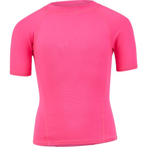 O'Rageous Girls' Raglan Short Sleeve Rash Guard