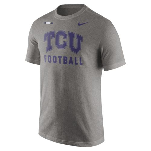 Nike Men's Texas Christian University Facility T-shirt - view number 1