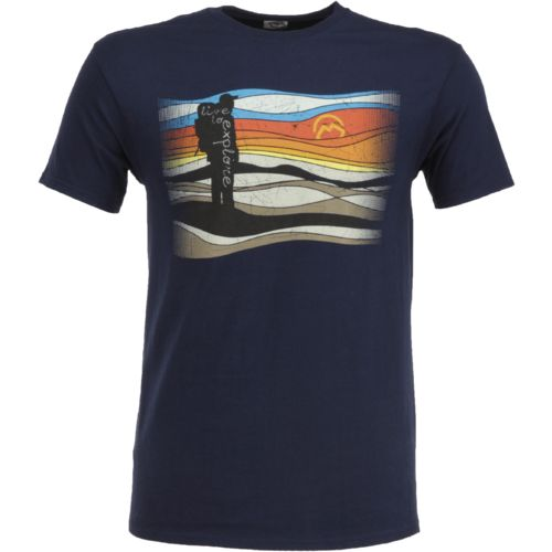 Display product reviews for Magellan Outdoors Men's Live to Explore Hiker T-shirt