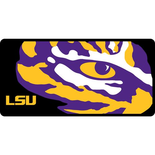 Stockdale Louisiana State University License Plate - view number 1