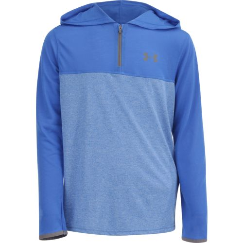 Under Armour Boys' Threadborne 1/4-Zip Hoodie