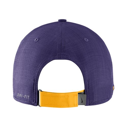 Nike™ Men's Louisiana State University AeroBill Sideline Coaches Cap - view number 2