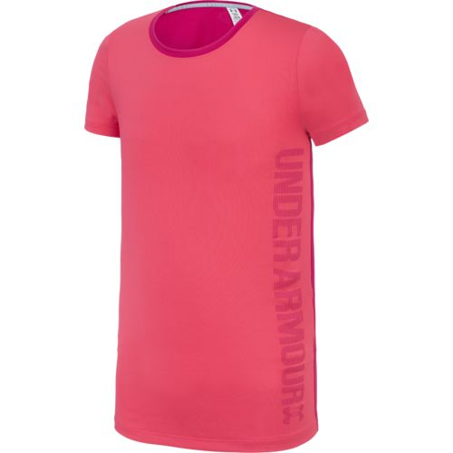 Under Armour Girls Armour Short Sleeve T-shirt