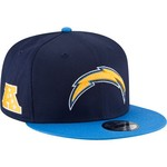 New Era Men's San Diego Chargers 9FIFTY Baycik Snapback Cap - view number 3