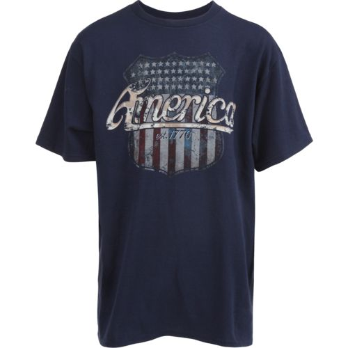 Academy Sports + Outdoors Boys' Flag Shield T-shirt