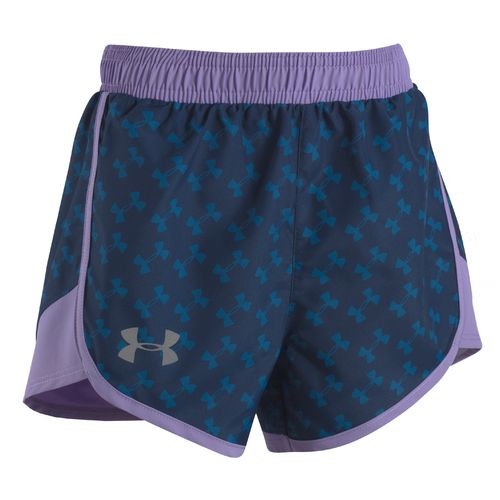 Under Armour Girls' Logo Toss Fast Lane Short