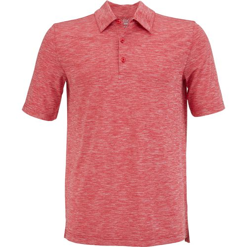 BCG Men's Golf Tru Wick Heather Short Sleeve Polo Shirt
