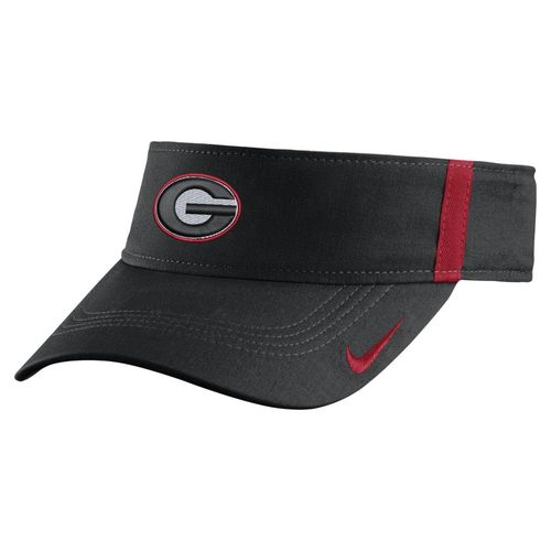 Nike™ Men's University of Georgia AeroBill Sideline Visor