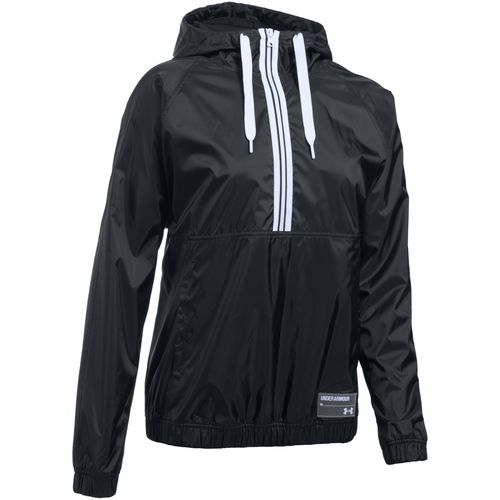 Under Armour Women's Woven 1/2 Zip Hoodie
