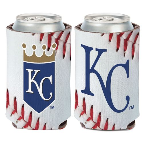 WinCraft Kansas City Royals Ball Design 12 oz Can Cooler - view number 1