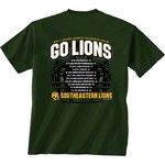 New World Graphics Men's Southeastern Louisiana University Football Schedule '17 T-shirt - view number 1