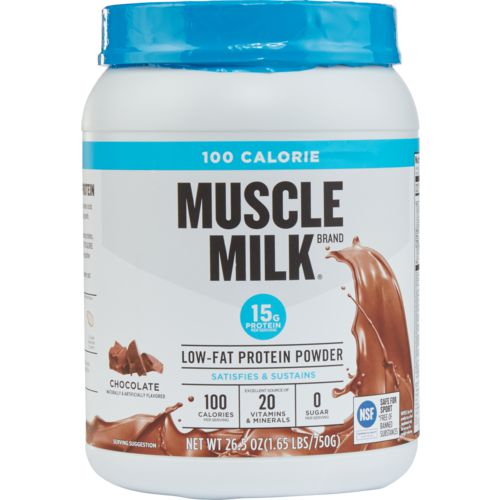 Display product reviews for Muscle Milk 100-Calorie Low-Fat Protein Powder