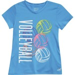 BCG Girls' Volleyball Graphic Short Sleeve T-shirt - view number 4