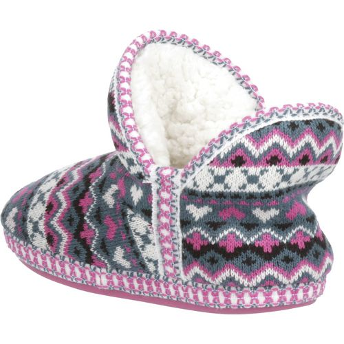 Austin Trading Co.™ Girls' Sweater Bootie Slippers - view number 3