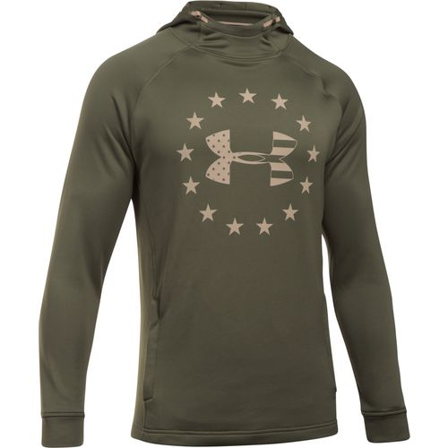 Under Armour Men's Freedom Tech Terry Fabric Hoodie