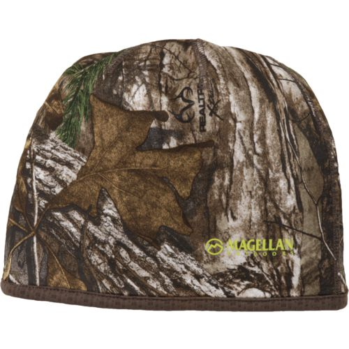 Magellan Outdoors Kids' Midweight Fleece Reversible Camo Beanie