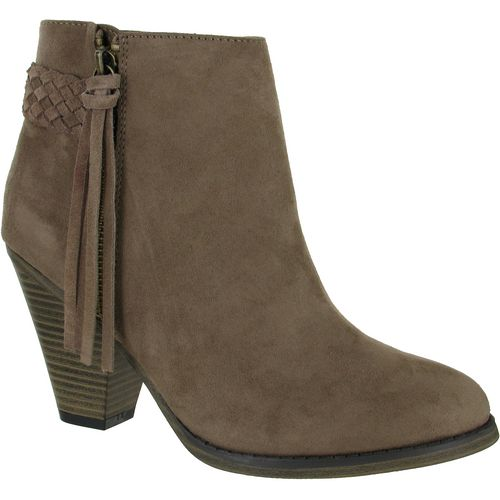 MIA Shoes Women's Finnegan Tassel Booties